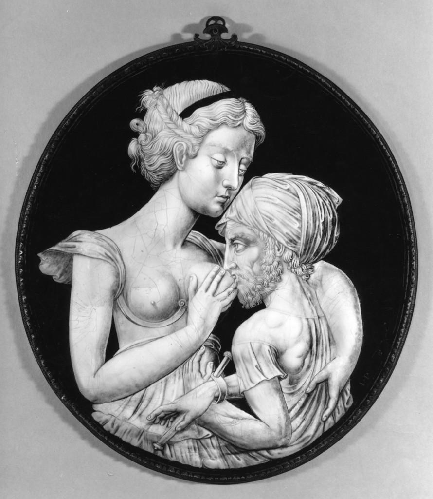 Greek Charity, de Jean Penicaud II, Grisaille, 1545