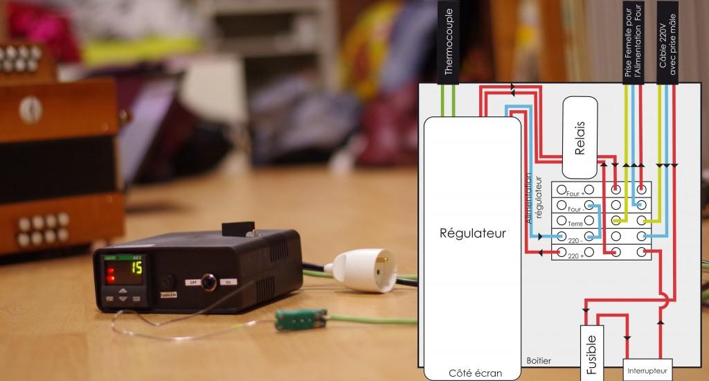 Mon régulateur - photo et schéma de câblage