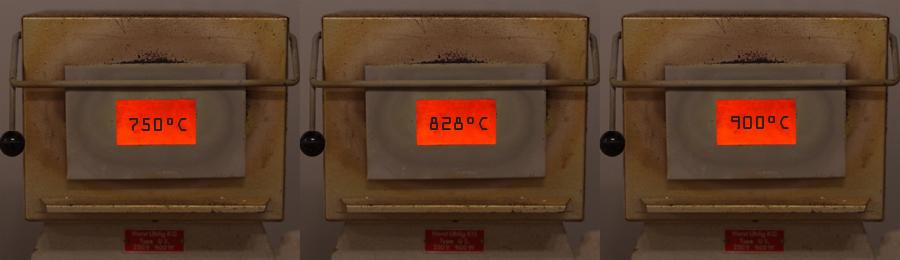 Saurez-vous définir l'exacte température de ces fours ??