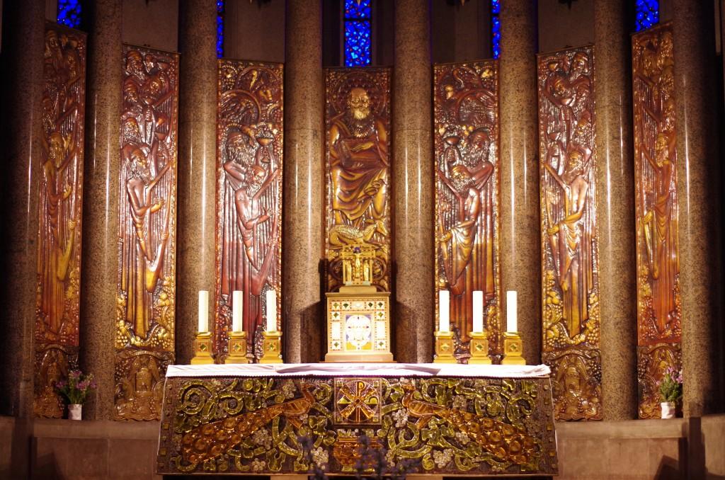 retable de l'église de St Odil