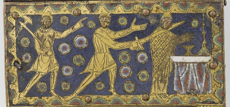Période Romane : Chasse de saint thomas Becket