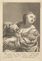 La Charité romaine, Claude Mellan (French, 1598–1688) et Simon Vouet (French, 1590–1649), gravure, 18.2 x 12.5 cm, The Metropolitan Museum of Art, New-York, USA