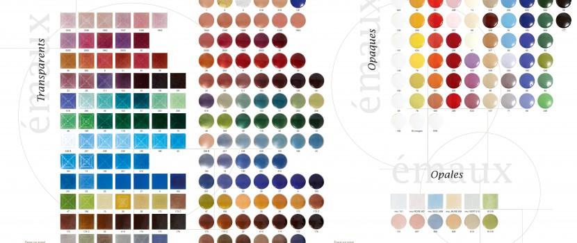 Les couleurs chatoyantes des émaux