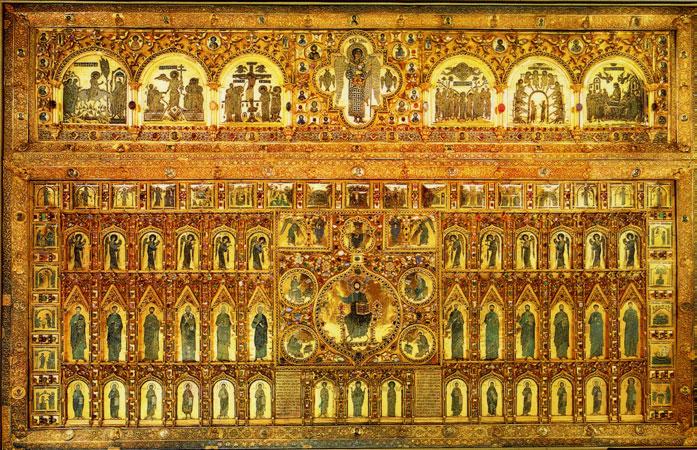 L 39 art byzantin la pala d 39 oro les instants essentiels for Pala de oro