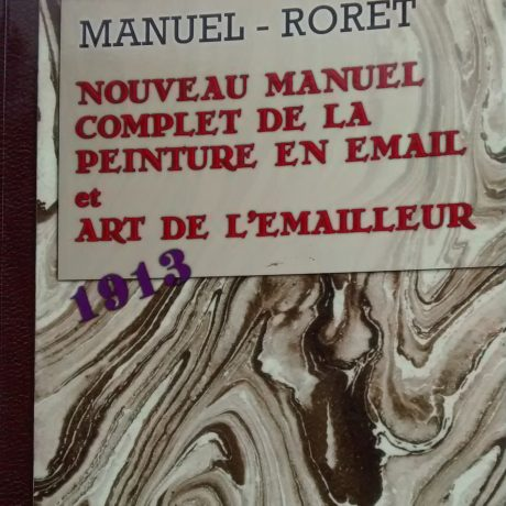 Livre – Nouveau manuel complet de la peinture en émail