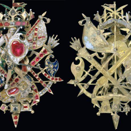 Le Baroque : broche Naseby