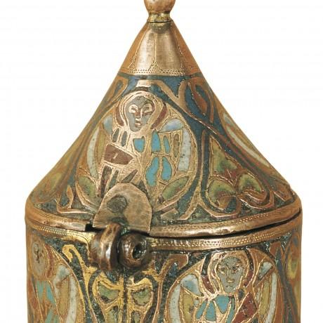 Période romane : Pyxide de san marti d'Ars